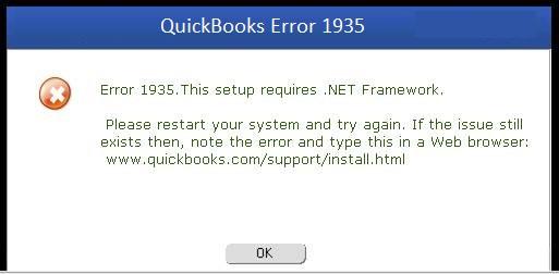 QuickBooks Error 1935 1