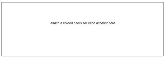 Write QuickBooks Direct Deposit Form