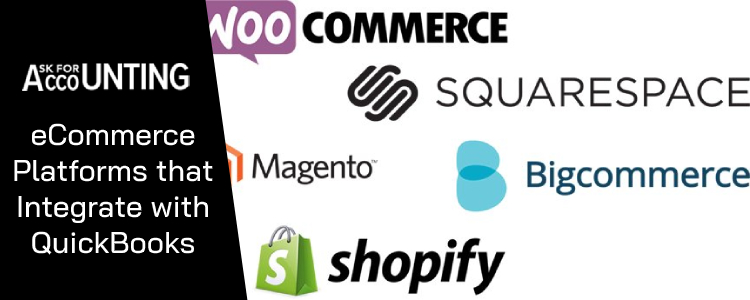 eCommerce Platforms that Integrate with QuickBooks