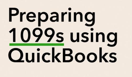 Create and File 1099 QuickBooks Desktop