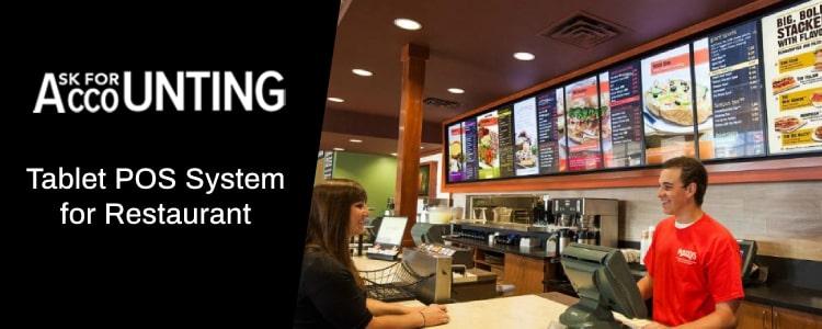 Tablet POS System for Restaurant
