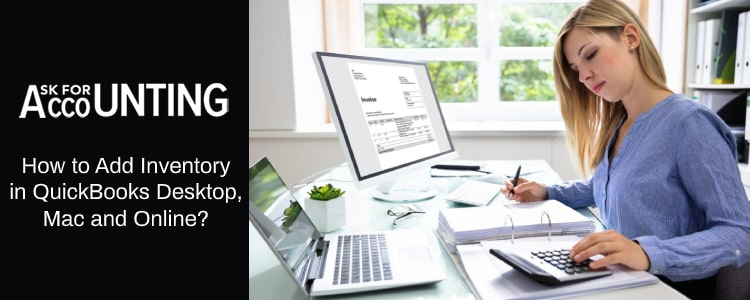 Add Inventory in QuickBooks Desktop