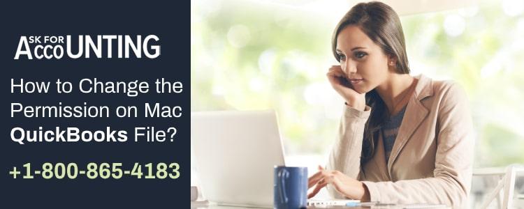Change the Permission on Mac QuickBooks File