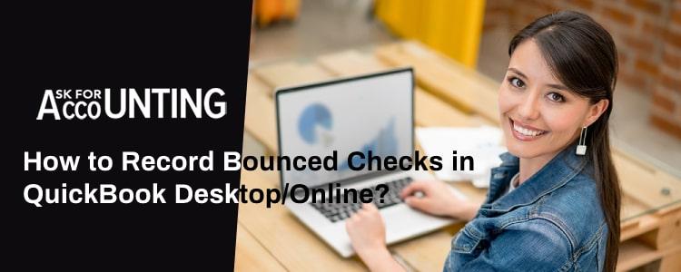 Record Bounced Checks in QuickBooks