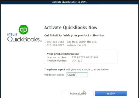 QuickBooks Registration Code