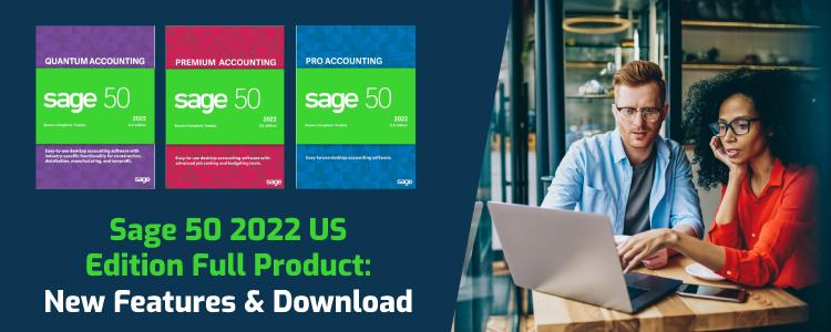 Sage 50 2022 US Edition Full Product
